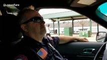 Officer's final sign-off after 36 years of service will warm your heart