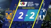 Resumen de Tigres vs Rayadas   Final Ida - Liga Mx femenil   Televisa Deportes