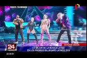 Lo mejor de la música latina en los premios Billboard Latinos 2018