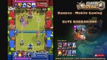 [Clash Royale] - The Best Elite Barbarians Deck - 5100+ Trophies