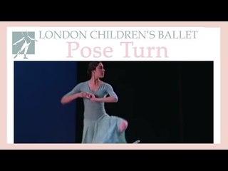 Pose Turn demo | LCB: Ballet Shoes 2001