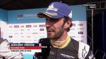 Formule E - e-Prix de Paris : La réaction de Jean-Éric Vergne après sa victoire