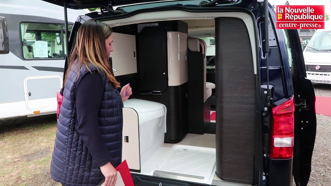 Video Le Van Vedette Du Salon Du Camping Car De Saint Cyr
