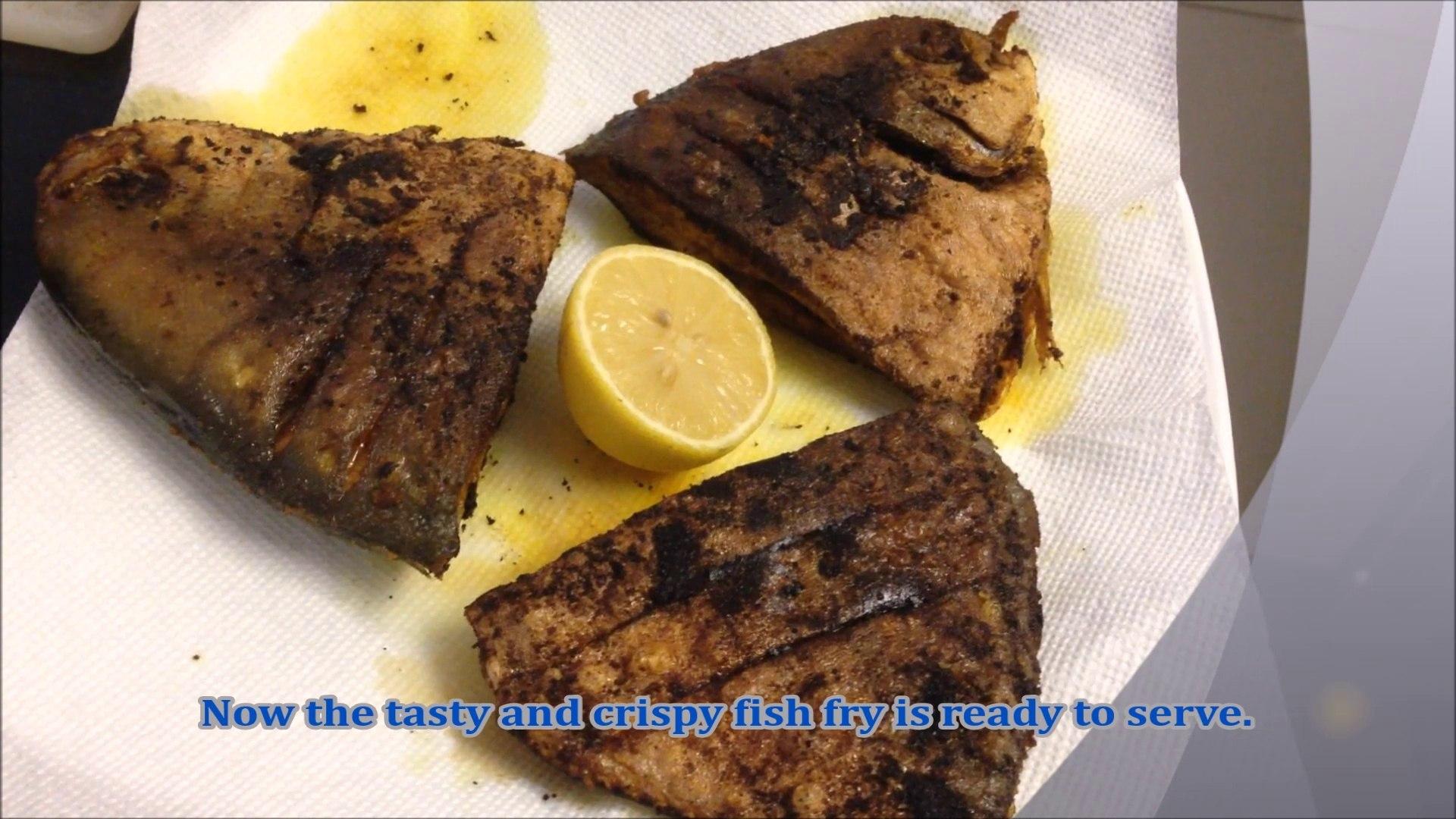 Pomfret Fish Fry - video dailymotion