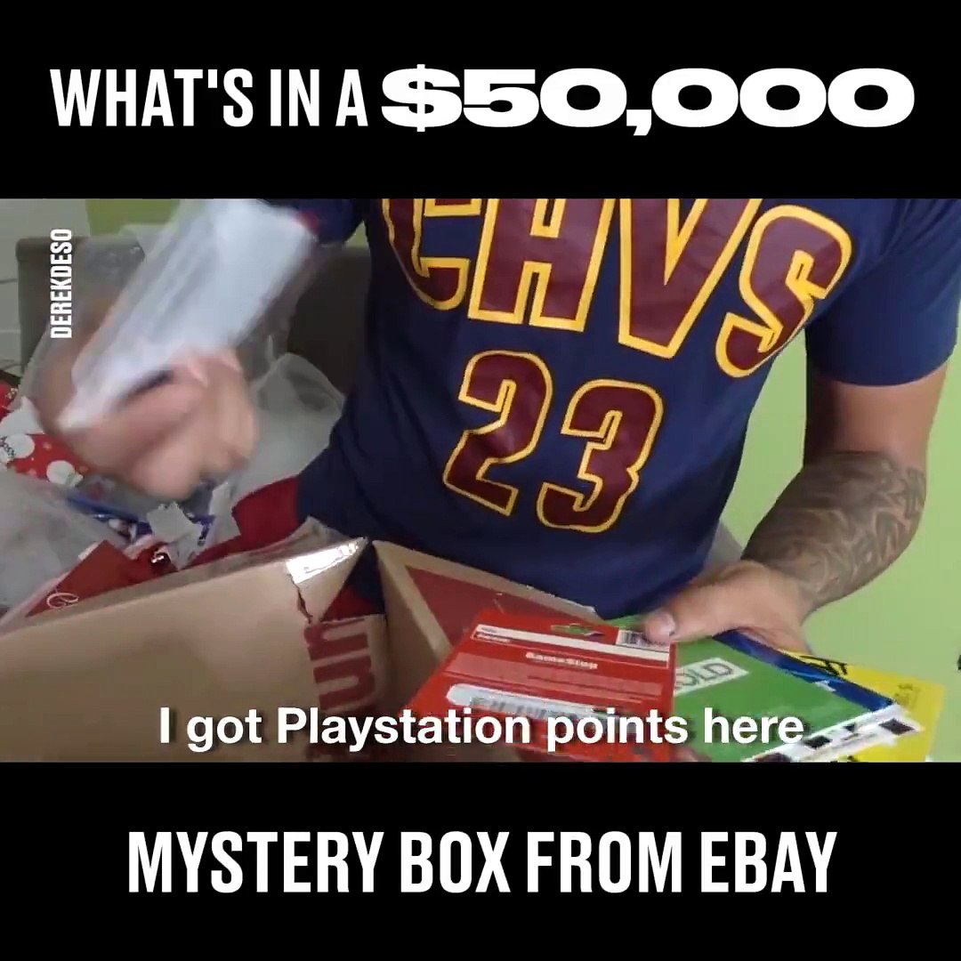 This Guy Spent 50 000 On A Mystery Box From Ebay And Here S What Was In It They Really Save The Best Til Last Derek Deso Video Dailymotion