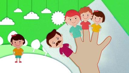 Finger Family   Children Songs & Kindergarten Nursery Rhymes