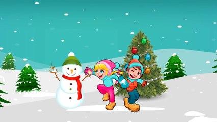 Santa Claus & Snowman - Happy New Year with Danny Dinosaur Cartoon