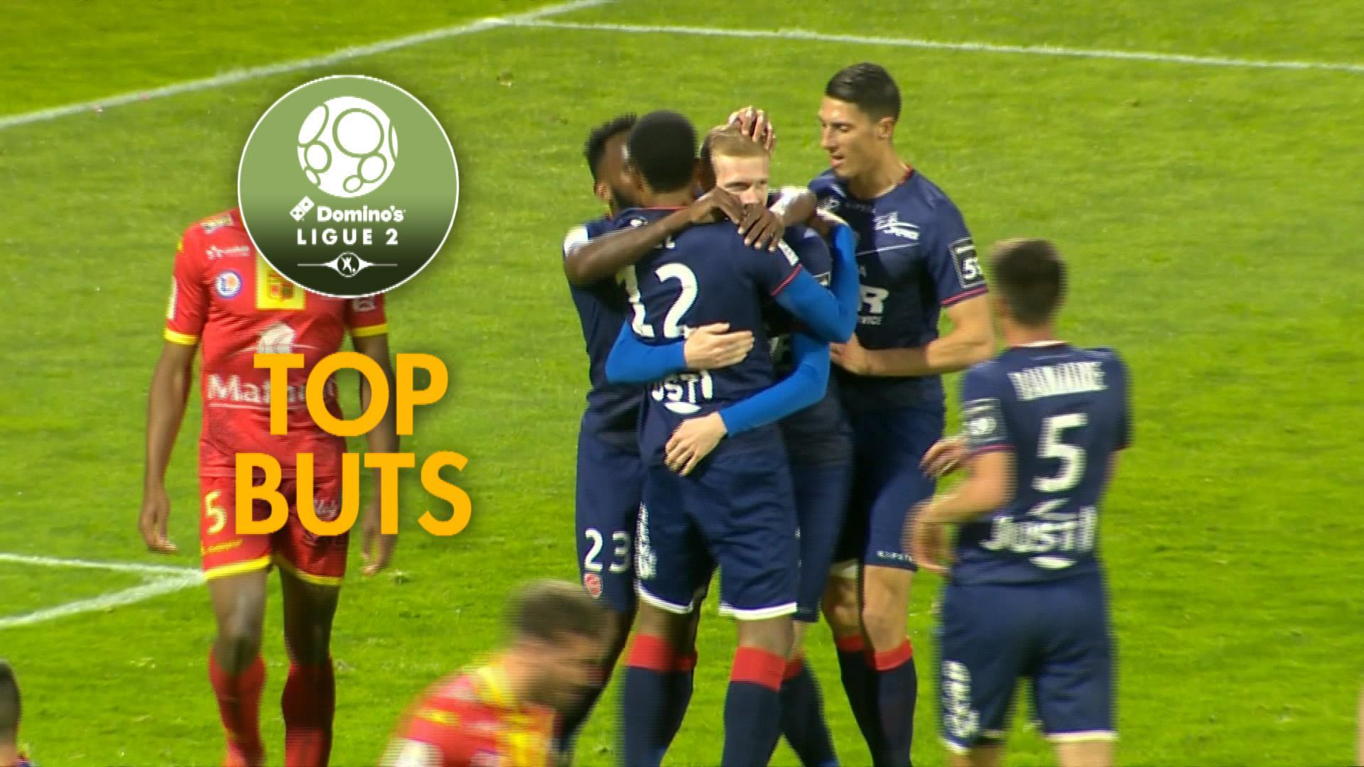Top buts 36ème journée – Domino's Ligue 2 / 2017-18