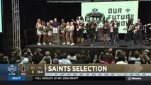 Saints select Natrell Jamerson No. 164 in the 2018 NFL Draft