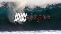 Crashes and Burns: Wipeouts at Silverbacks, Teahupoo and Pipe