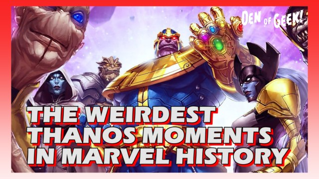 Double Take  - The Weirdest Thanos Moments in Marvel History