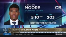 Saints select Kamrin Moore No. 189 in the 2018 NFL Draft