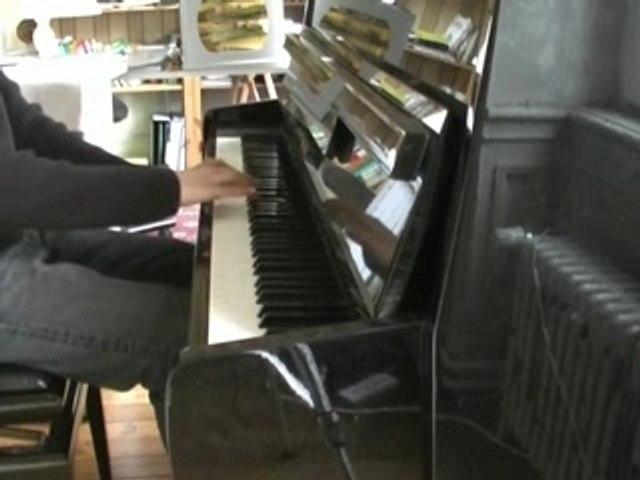 Noir Désir - Un jour en France (piano)