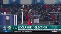 Dolphins select Jason Sanders No. 229 in the 2018 NFL Draft