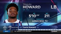 Rams select Travin Howard No. 231 in the 2018 NFL Draft