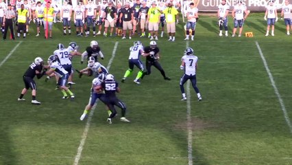 Panthers Parma - Seamen Milano 13-35, highlights e interviste
