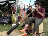 Teuf didgeridoo  live impro