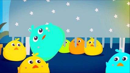 Ten Colorful Birds In The Bed   Nursery Rhymes   Fun Nursery Rhymes by Doo Doo Kids Songs