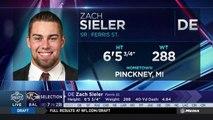 Ravens select Zach Sieler No. 238 in the 2018 NFL Draft