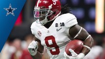 Cowboys select Bo Scarbrough No. 236 in the 2018 NFL Draft