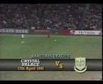 Crystal Palace - Tottenham Hotspur 17-04-1991 Division One