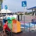 Özgürce dolaşabilsinler diye, tekerlekli sandalyeliler için yapılmış bir motosiklet