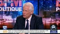 """Dominique de Villepin: """"Je ne crois pas au casse du siècle d'Emmanuel Macron, c'est une évidence qui s'est imposée à un moment, il n'en restait qu'un"""""""