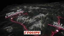 Le profil de la 15e étape (Tolmezzo - Sappada) - Cyclisme - Giro