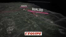Le profil de la 10e étape (Penne - Gualdo Tadino) - Cyclisme - Giro