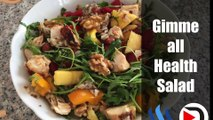 Dtube Vlog 34 - The ''Gimme-all-Health-Salad - Delicious and Healthy Self Creation
