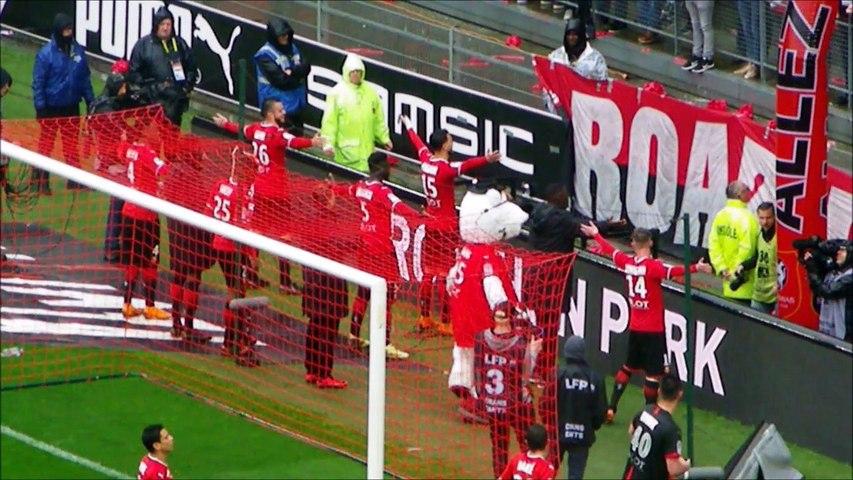 29/04/18 : SRFC-TFC : clapping de victoire