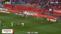 Rennes 2-1 Toulouse TFC - Buts Résumé