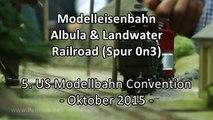Modelleisenbahn Albula & Landwater Railroad in Spur 0n3 - Ein Video von Pennula zum Thema Eisenbahn-Schauanlagen und Modellbau sowie Modelleisenbahnen
