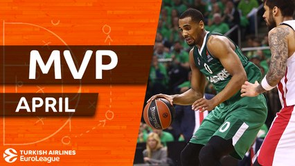 Turkish Airlines EuroLeague MVP for April: Brandon Davies, Zalgiris Kaunas