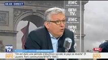 """""""Ce soir, il y aura un rassemblement symbolique des responsables de gauche"""", sauf Jean-Luc Mélenchon (Pierre Laurent, PCF)"""