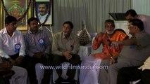 Harinath Goud with Agarwal Seva Dal at Nampally Exhibition Ground,  Hyderabad