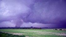 Nombreuses tornades  ont frappé la Marne le 29 Avril 2018