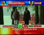 Modi-Xi meet Prime Minister Modi's east lake walk with Xi Jinping