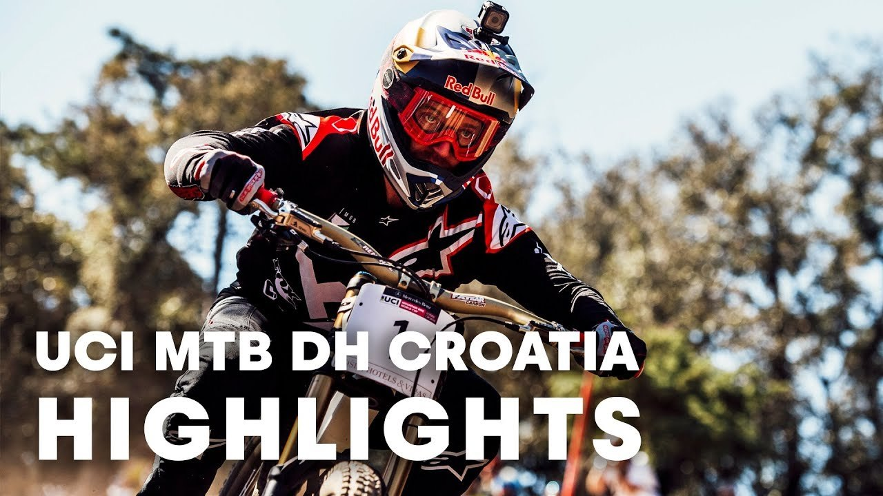 6500ddf53c3 UCI MTB 2018: Downhill racing highlights from Croatia. - video dailymotion