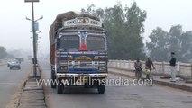 Overloaded Bihar roadways bus: India
