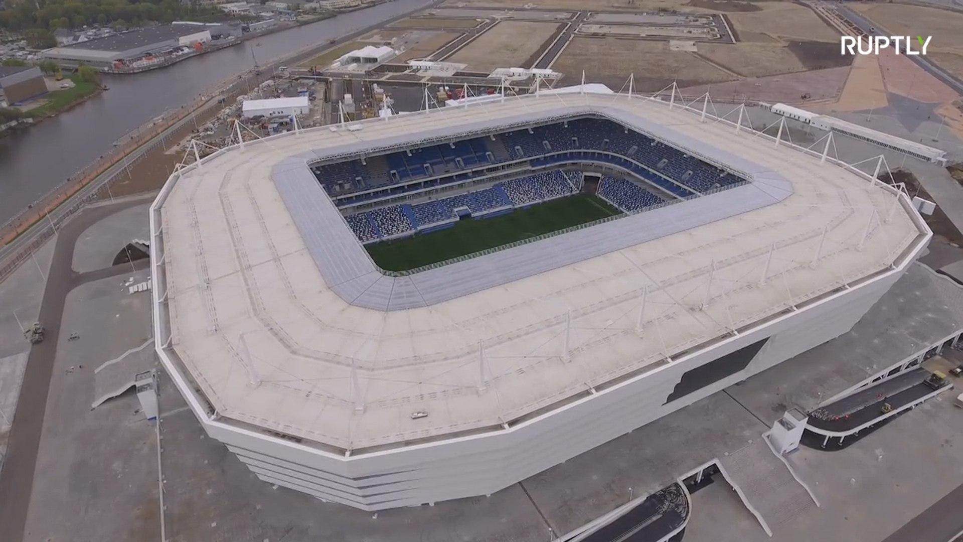Стадион в Калининграде готовится принять ЧМ-2018