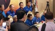 Pengumuman calon Barisan Nasional Sarawak bagi kerusi Parlimen Pilihan Raya Umum ke-14 oleh Pengerusi BN Sarawak Datuk Patinggi Abang Johari Abang Openg#pengu