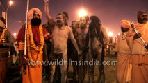 Wild looking Naga sadhus at India's biggest Hindu congregation