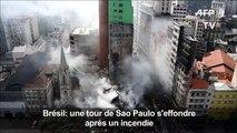 Brésil/incendie : un rescapé raconte comment il s'est échappé
