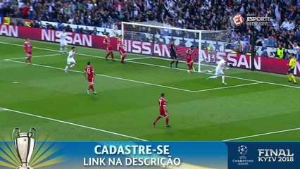GOL DO REAL! Marcelo faz linda jogada e cruza milimetricamente para Benzema empatar contra o Bayern!