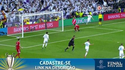 VIRADA DO REAL MADRID! Após falha bizarra de Ulreich, Benzema só empurra para o gol para fazer o segundo do time merengue!
