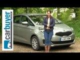 Kia Carens MPV 2013 review - CarBuyer