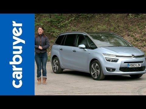 Citroen Grand C4 Picasso MPV review – Carbuyer (Citroen Grand C4 SpaceTourer)
