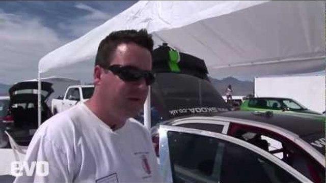 Pt 3. Skoda/evo @ Bonneville Speed Week 2011.