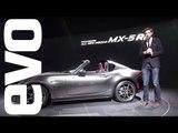 Mazda MX-5 RF preview - new hard-top sports car explored | evo MOTOR SHOWS